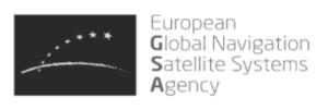 European Global Navigation Satellite Systems Agency logo
